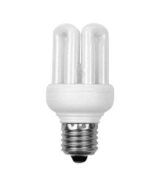 Ampoule Fluocompacte Basse Consommation E27 11W 500Lm équiv 48W Blanc chaud KANLUX - CYBER WEEK - siageo-led.com