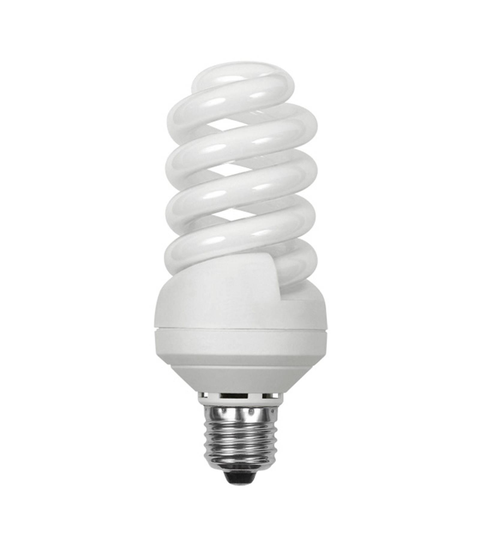ampoule fluocompacte basse consommation e27 spirale 24w 1450lm quiv 103w blanc neutre kanlux. Black Bedroom Furniture Sets. Home Design Ideas
