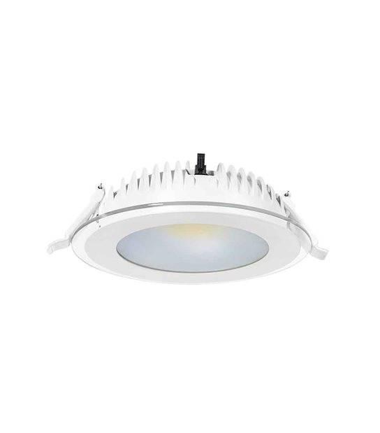 Downlight CONSI Blanc Rond LED MCOB intégrés IP20 11W Blanc Neutre KANLUX - 22020 - LED DOWNLIGHT - siageo-led.com