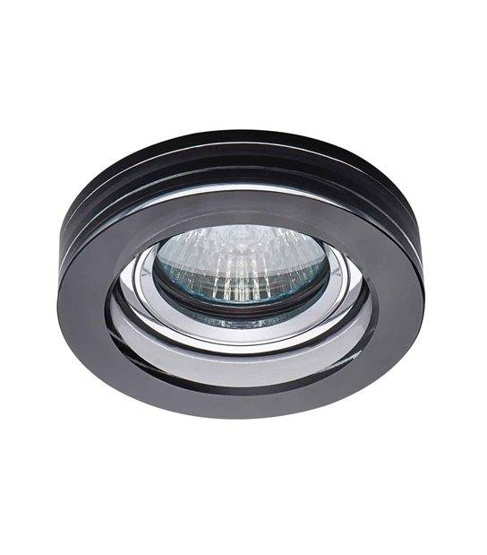 Spot Encastrable MORTA Noir Rond GU5.3/GU10 IP20 KANLUX - 22116 - ENCASTRABLE - siageo-led.com