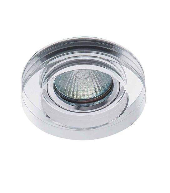 Spot Encastrable MORTA Transparent Rond GU5.3/GU10 IP20 KANLUX - 22117 - ENCASTRABLE - siageo-led.com