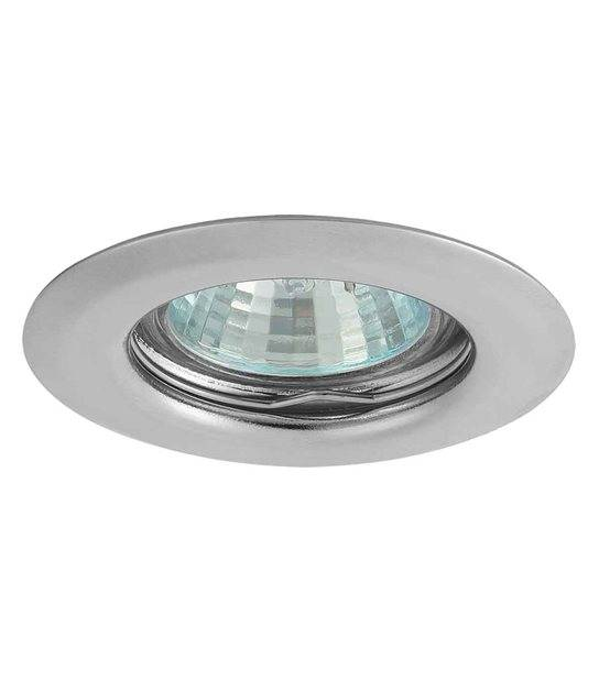 Spot Encastrable ULKE Chrome Rond GU4 MR11 IP20 KANLUX - 321 - ENCASTRABLE - siageo-led.com