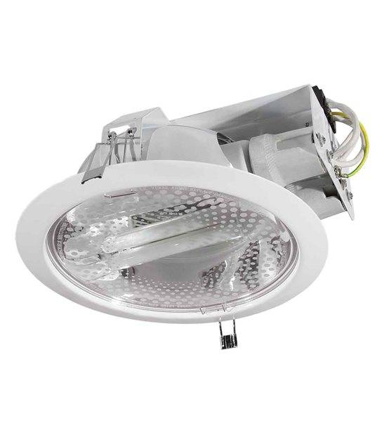 Downlight RALF Blanc Rond 2 spots E27 IP20 KANLUX - 4820 - LED DOWNLIGHT - siageo-led.com