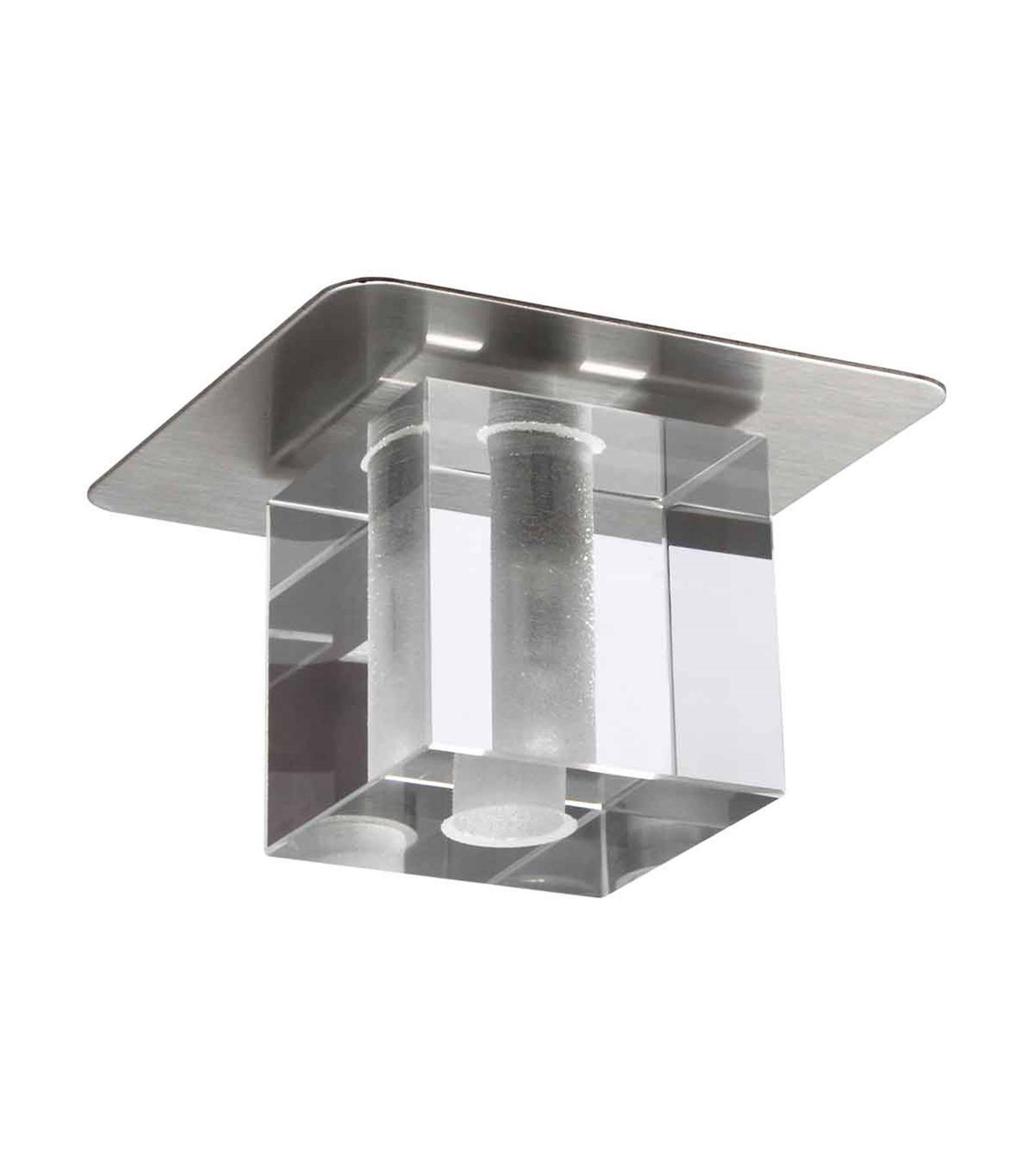 spot encastrable david osaka nickel carr g4 ip20 kanlux plafonnier siageo. Black Bedroom Furniture Sets. Home Design Ideas