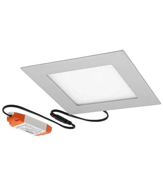 Dalle Plafonnier Blanc Carré LED SMD intégré IP20 17W Blanc Neutre KANLUX - 19071 - DALLES LED - siageo-led.com