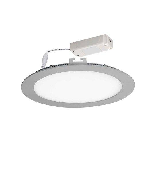 Dalle Plafonnier Blanc Rond LED SMD intégré IP20 18W Blanc Neutre KANLUX - 22497 - CYBER WEEK - siageo-led.com