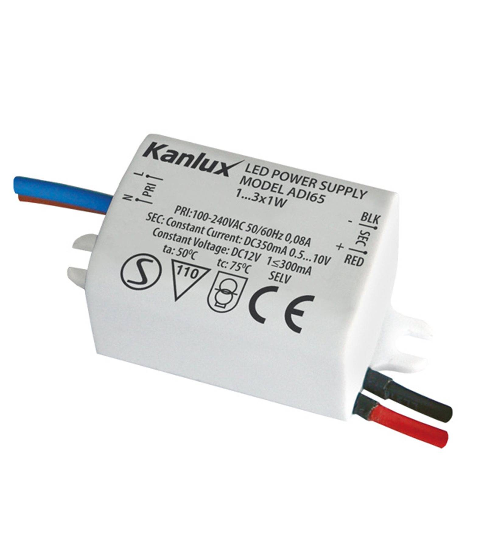 Transformateur 3x1ww Électronique 240v Ip20 Kanlux Dc 100 Adi Led À OkTPXuZi