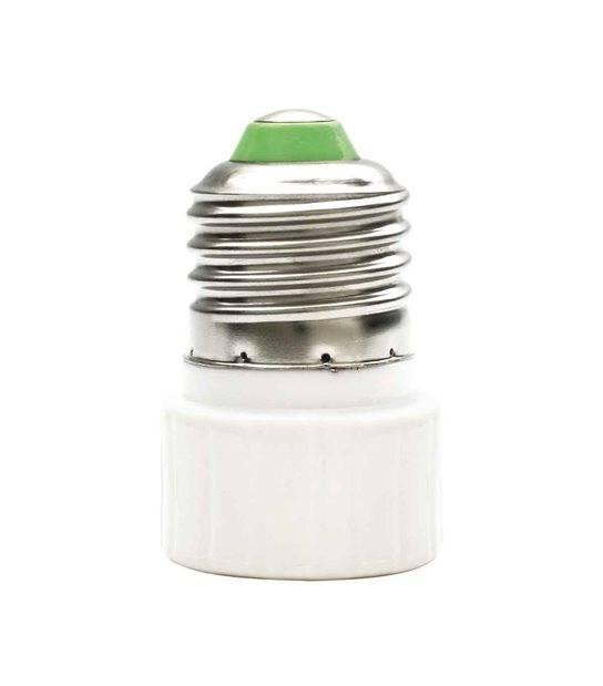 Douille adaptateur de E27 vers GU10 en céramique pour lampes et ampoules - 8850 - DOUILLE & ADAPTATEUR - siageo-led.com
