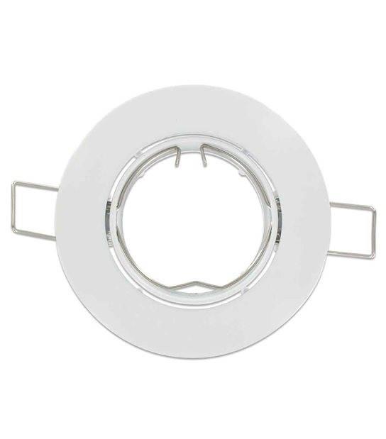 Collerette orientable coloris blanc RAL 9010 pour membrane BBC RT2012 SPOTBOX 694800 de 76mm - 690009 - CYBER WEEK - siageo-led.com