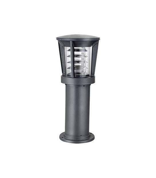 Balise ronde H58cm E27 IP44 éxterieur EASY CONNECT ampoule fournie - BORNES EASY CONNECT - siageo-led.com