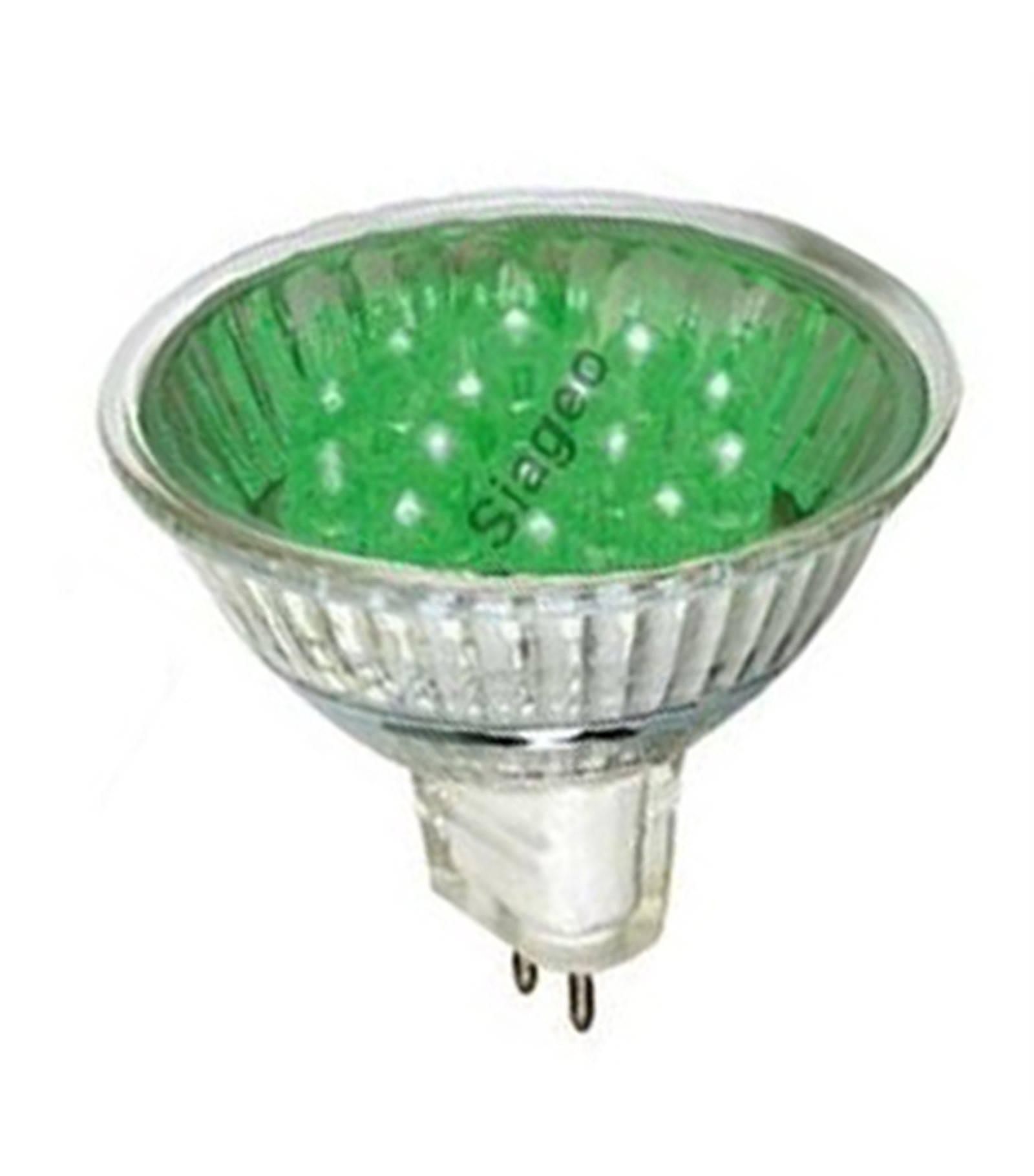 ampoule halog ne gu5 3 mr16 35w vert 12v kanlux ampoule halogene siageo. Black Bedroom Furniture Sets. Home Design Ideas