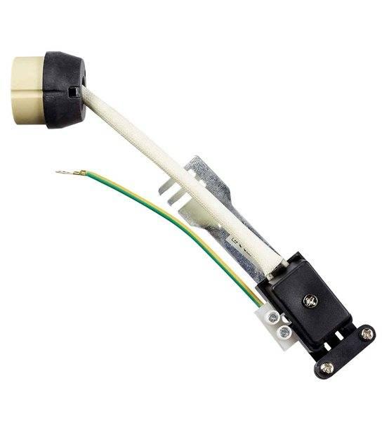 Douille GU10 complète sur raccord protégé pour lampes et ampoules - DOUILLE & ADAPTATEUR - siageo-led.com