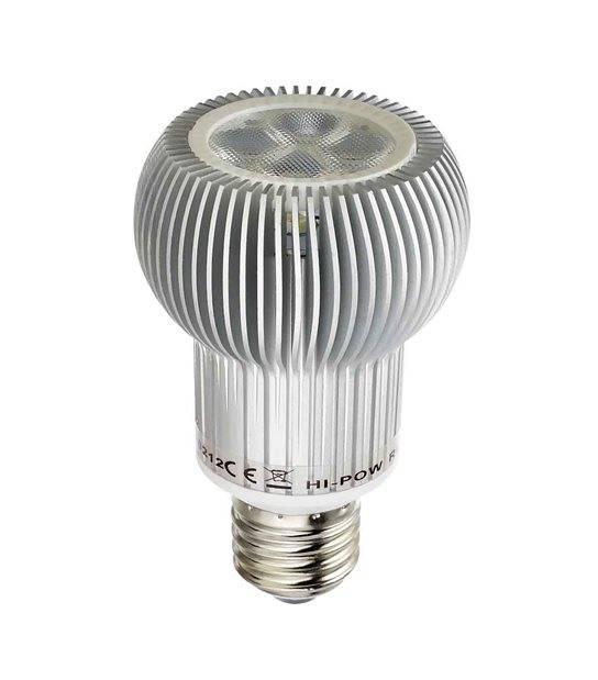 DESTOCKAGE Ampoule LED E27 R63 6W 330Lm (équiv 60W) Blanc Chaud 180° BRIDGELUX - E27 - siageo-led.com