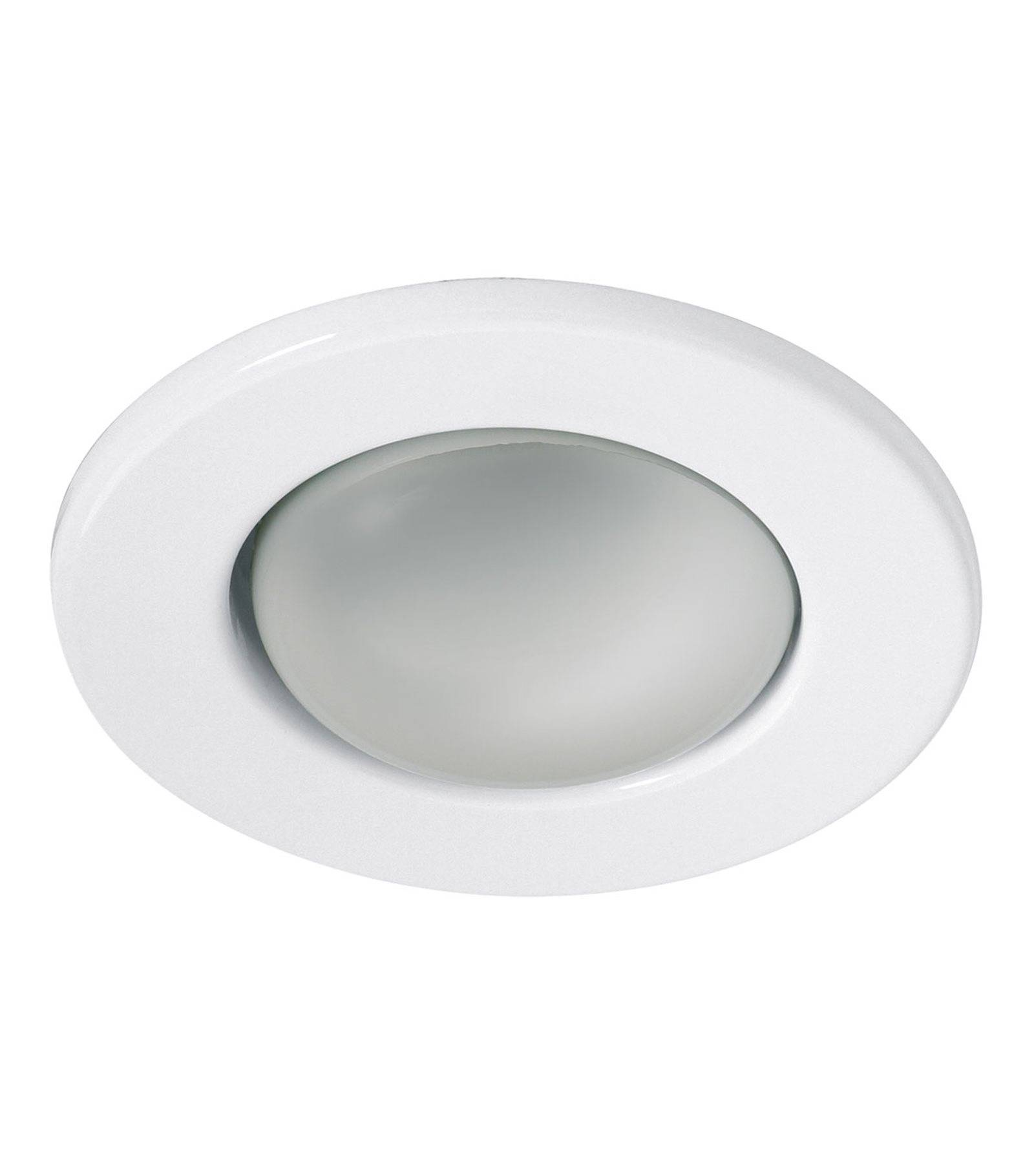 Spot encastrable rago blanc rond e14 ip20 kanlux for Spot led interieur encastrable