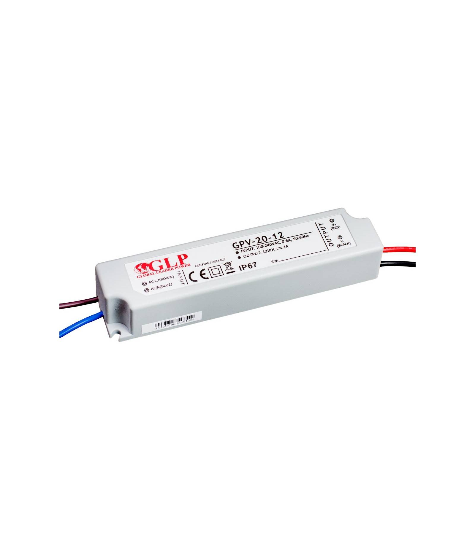 Transformateur sp/écial Led de 12W GPV-18-12 GLP
