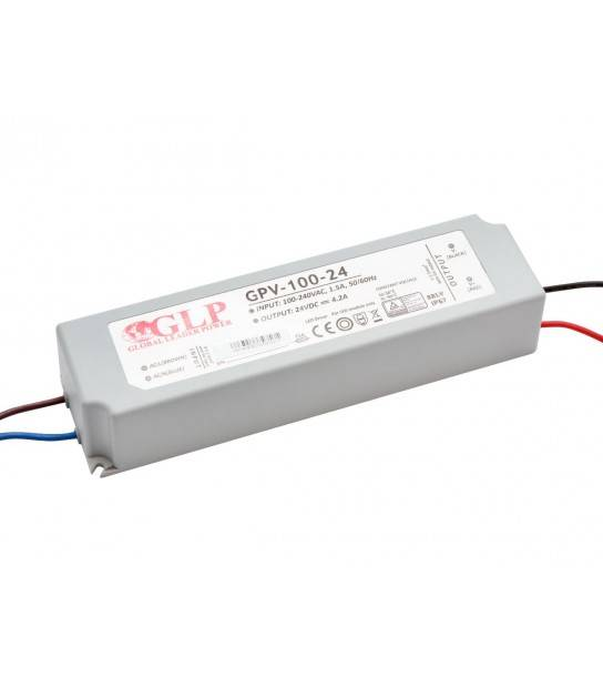 Transformateur spécial Led 24V de 100W GPV-100-24 GLP - GLP-GPV-100-24 - CYBER WEEK - siageo-led.com