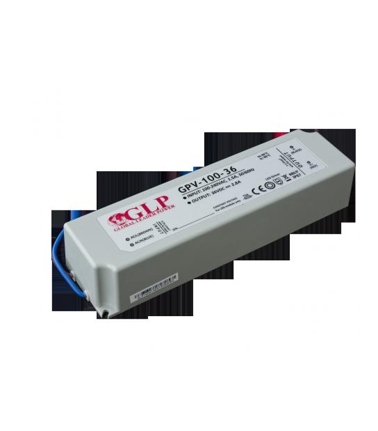 Transformateur spécial Led 12V de 100W GPV-100-36 GLP - GLP-GPV-100-36 - TRANSFORMATEUR SPECIAL LED - siageo-led.com