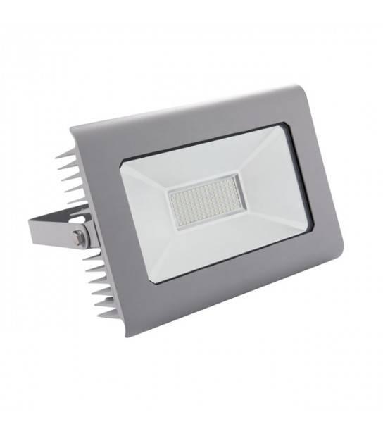 Projecteur LED ANTRA 100W Blanc neutre 4000K Modèle Gris 7400 Lumen Kanlux - 25586 - PROJECTEUR MURAL - siageo-led.com
