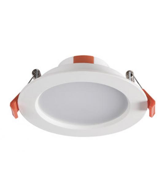 Downlight à led LITEN Blanc chaud SMD puissance 6 watts pour 65 watts 390 Lumen - 25560 - LED DOWNLIGHT - siageo-led.com