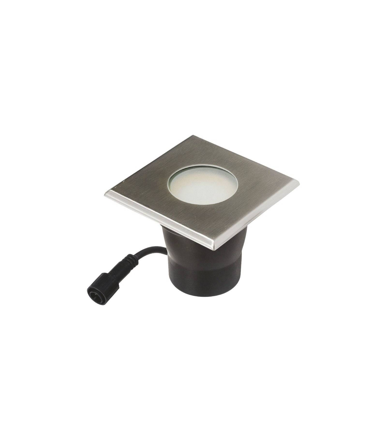 spot encastrable carr 16cm special terrase beton groundlight gu10 mr30 fournie ip67 blanc chaud. Black Bedroom Furniture Sets. Home Design Ideas
