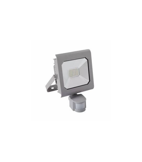 Projecteur LED ANTRA Détecteur de mouvement 20W Blanc neutre 4000K Modèle Gris 1500 Lumen Kanlux - 25588 - PROJECTEUR MURAL - siageo-led.com