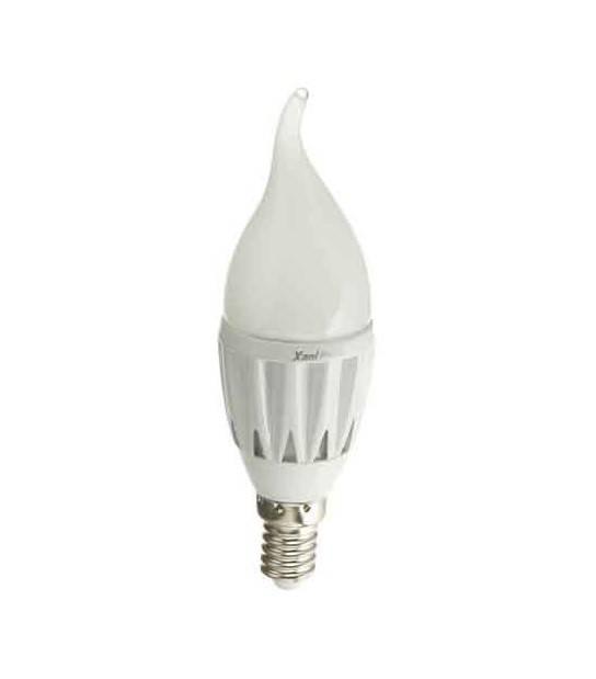 Ampoule LED E14 Flamme SMD 2.5W 193Lm (équiv 20W) Blanc Chaud XANLITE - E14 - siageo-led.com