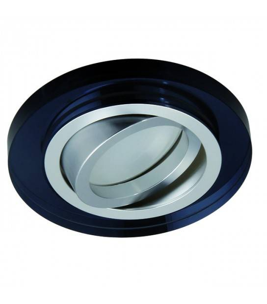 Spot encastrable orientable rond Design Noir Collection MORTA Kanlux - 26717 - ENCASTRABLE - siageo-led.com