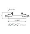 Spot encastrable orientable carré Design Argent Collection MORTA Kanlux - 26718 - ENCASTRABLE - siageo-led.com