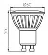 Ampoule LED GU10 SMD TEDI MAX 8W 900Lm (équiv 66W) Blanc Froid 120° KANLUX - GU10 - siageo-led.com