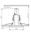 Spot encastrable DELE Chrome Mat Rond GU10 IP20 KANLUX - 913 - ENCASTRABLE - siageo-led.com