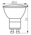 Ampoule LED GU10 SMD TOMI 3W 250Lm (équiv 25W) Blanc Froid 120° KANLUX - GU10 - siageo-led.com