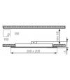 Dalle Plafonnier Blanc Carré LED SMD intégré IP20 10W Blanc Neutre KANLUX - 19070 - CYBER WEEK - siageo-led.com
