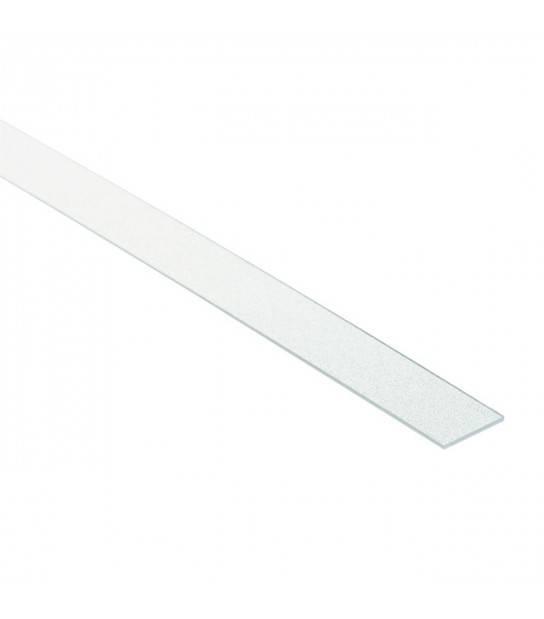 Diffuseur SHADE B/F-FR transparent 1 mètre pour profilé aluminium PROFILO B/F-FR Kanlux - 26568 - ACCESSOIRES RUBAN LED - siageo-led.com