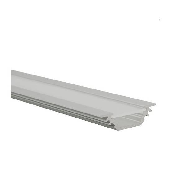 PROFILO E profilé en aluminium pour bande led 15 mm longueur 1 mètre Kanlux - 19164 - ACCESSOIRES RUBAN LED - siageo-led.com