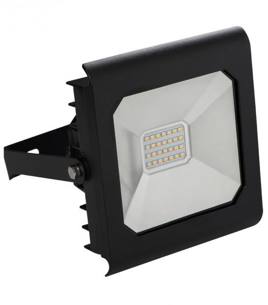 Projecteur LED ANTRA 20W Blanc neutre 4000K Modèle Noir 1500Lumen Kanlux - 25704 - PROJECTEUR MURAL - siageo-led.com