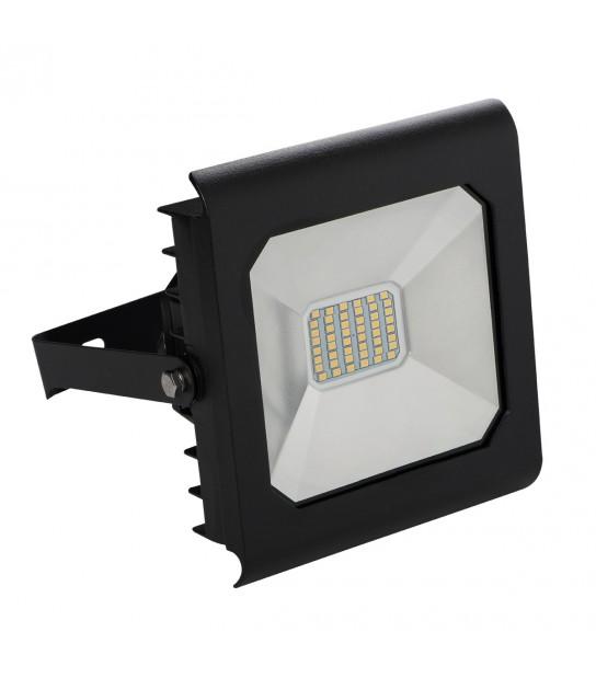 Projecteur LED ANTRA 30W Blanc neutre 4000K Modèle Noir 2300Lumen Kanlux - 25705 - PROJECTEUR MURAL - siageo-led.com