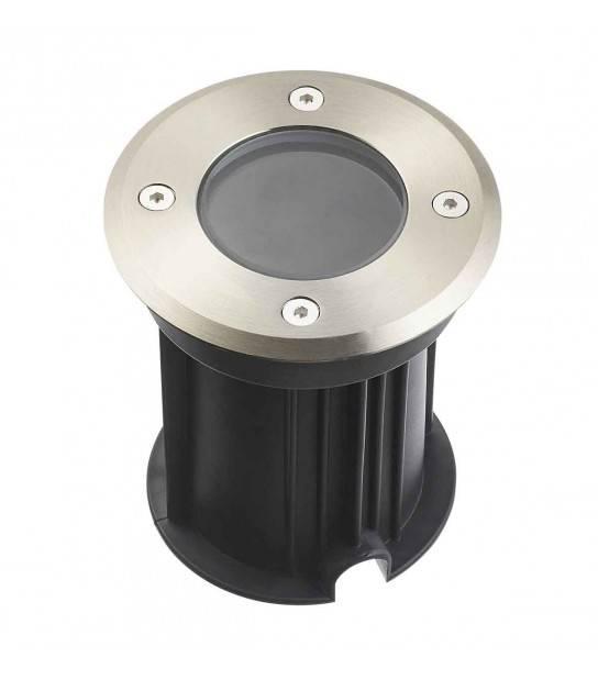 Spot encastrable Burnaby GU10 VERRE CLAIR Aluminium Rond GU10 IP67 inox 316L HIPOW - CYBER WEEK - siageo-led.com