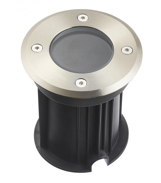 Spot encastrable Burnaby GU5,3 VERRE CLAIR Aluminium Rond GU5.3 MR16 IP67 inox 316L HIPOW - CYBER WEEK - siageo-led.com