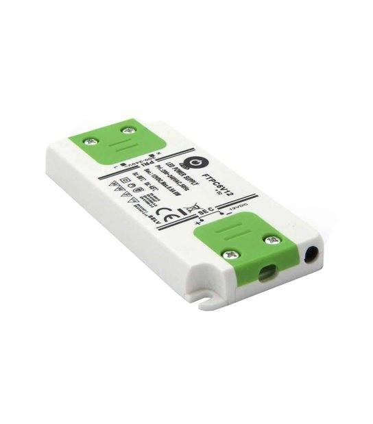 Transformateur électronique LED 50W 220-240V à 12V DC IP20 FTPC50V12 POS - 243363 - TRANSFORMATEUR ELECTRONIQUE - siageo-led.com