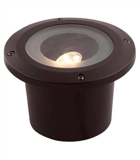 Spot encastrable orientable RUBUM 5W GU5.3 MR16 IP67 Blanc Chaud éxterieur Garden lights ampoule fournie - GL3159011 - SPOT ENCASTRABLE JARDIN - siageo-led.com