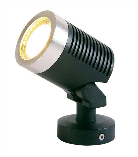 Spot projecteur ARCUS 5W GU5.3 MR16 IP44 Blanc Chaud Orientable éxterieur Garden lights ampoule fournie - GL3164011 - PROJECTEUR JARDIN - siageo-led.com