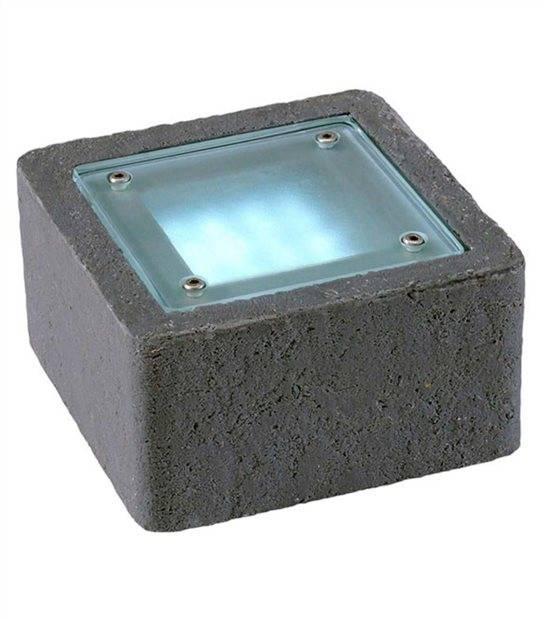 Spot encastrable XERUS 2W PLATINE LED IP68 Blanc Froid éxterieur Garden lights ampoule fournie - GL3540531 - SPOT ENCASTRABLE JARDIN - siageo-led.com