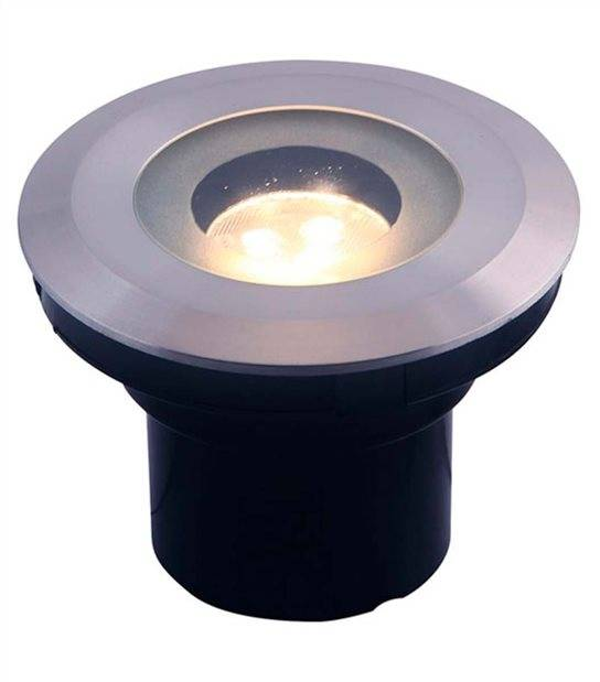 Spot encastrable AUREA 3W GU5.3 MR16 IP68 Blanc Chaud éxterieur Garden lights ampoule fournie - GL4117601 - SPOT ENCASTRABLE JARDIN - siageo-led.com