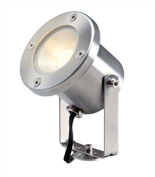 Spot projecteur à piquer ou visser CATALPA 3W GU5.3 MR16 IP44 Blanc Chaud Orientable éxterieur Garden lights ampoule fourni - PROJECTEUR JARDIN - siageo-led.com