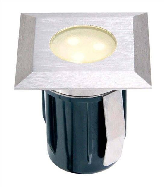 Spot encastrable ATRIA BLANC 0,5W PLATINE LED IP68 Blanc Chaud éxterieur Garden lights ampoule fournie - GL4077601 - SPOT ENCASTRABLE JARDIN - siageo-led.com