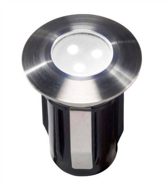 Spot encastrable ALPHA BLANC 0,5W PLATINE LED IP68 Blanc Froid éxterieur Garden lights ampoule fournie - GL4112601 - SPOT ENCASTRABLE JARDIN - siageo-led.com