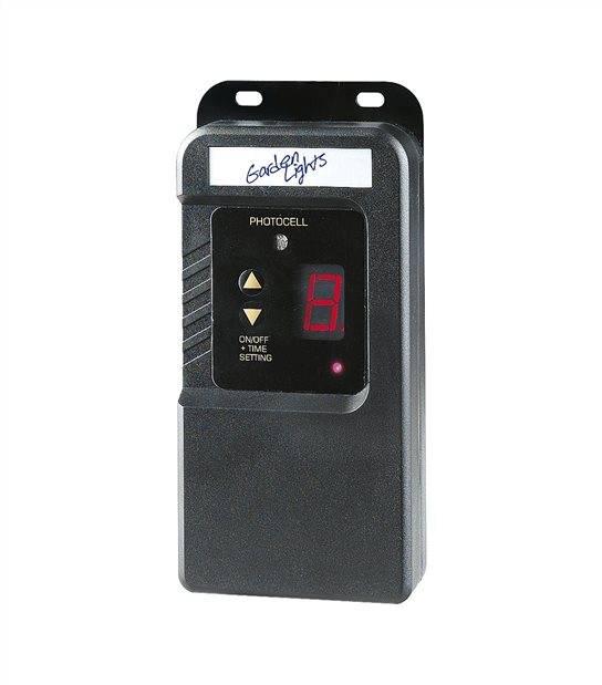 Minuteur avec capteur de luminosité extérieur étanche IP44 éxterieur Garden lights - GL6009011 - ACCESSOIRES DOMOTIQUE - siageo-led.com