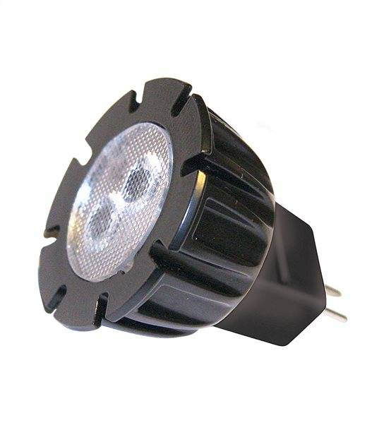 Ampoule LED GU5.3 MR11 2W 120Lm Blanc Chaud 120 degré 12V Garden lights - GL6215011 - CYBER WEEK - siageo-led.com