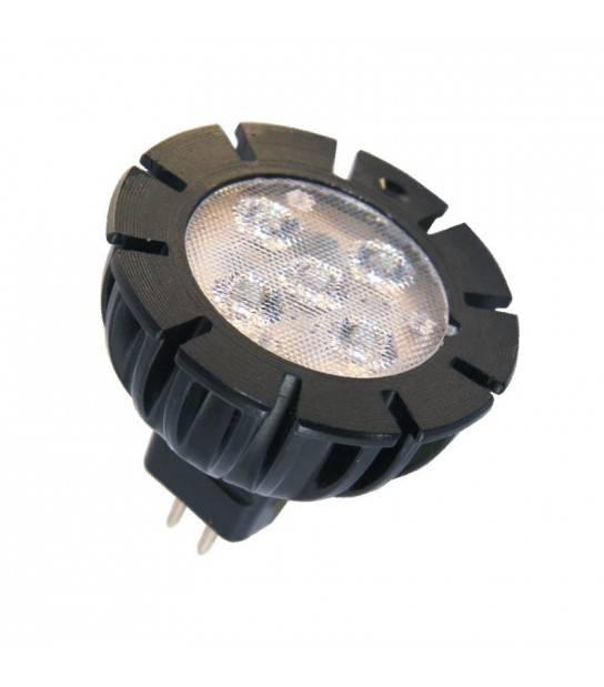 Ampoule LED GU5.3 MR16 5W 320Lm Blanc Chaud 120 degré 12V Garden lights - GL6194011 - CYBER WEEK - siageo-led.com