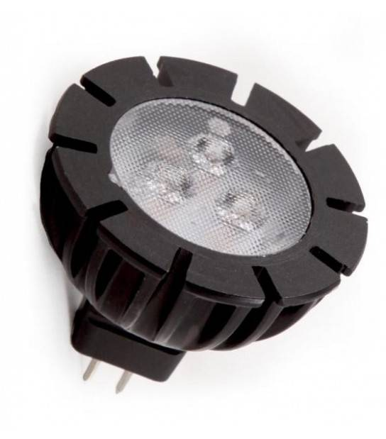 Ampoule LED GU5.3 MR11 1,5W 85Lm Blanc Chaud 120 degré 12V Garden lights - GL6224011 - CYBER WEEK - siageo-led.com